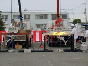 2×4実証実験 耐火性3