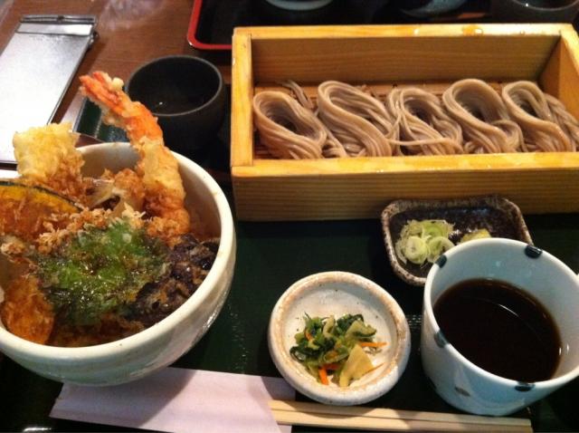 蕎膳 楽 天丼とお蕎麦